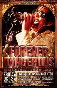 FOREVER DANGEROUS: A Michael Jackson Concert Experience! @ Greeley | Colorado | United States