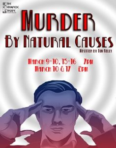 """The Stampede Troupe in """"Murder by Natural Causes"""" @ Hensel Phelps Theatre 